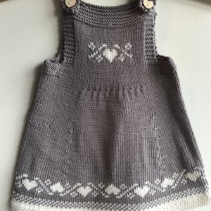 b748d6166f73 Luv U Forever Pinafore Dress - P090 Knitting pattern by OGE Knitwear ...
