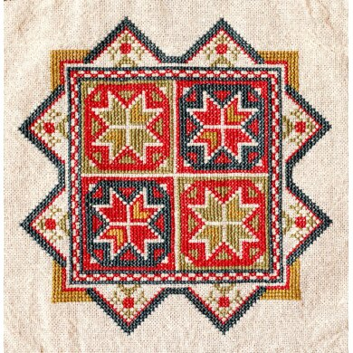 Avlea Folk Embroidery Star Of Chios - Downloadable PDF
