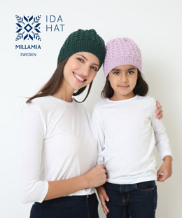 Ida Hat in MillaMia Naturally Soft Merino - Downloadable PDF