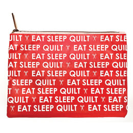 Punch Studio Glam Bag - Eat Sleep Quilt