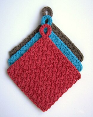 Thick With Color Potholders