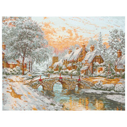 Anchor Cobblestone Christmas Cross Stitch Kit