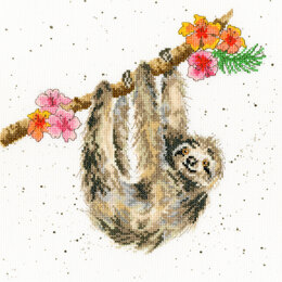 Bothy Threads Hannah Dale Hanging Around Cross Stitch Kit