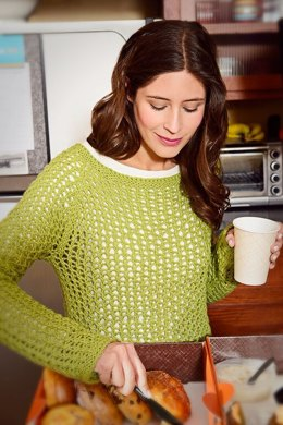 Snowflake Pullover in Spud & Chloe Sweater - 9533 (Downloadable PDF)