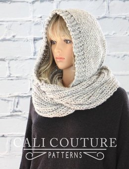Montreal Knit Hooded Infinity Scarf #32
