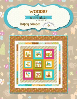 Riley Blake Woodsy Quilt - Downloadable PDF