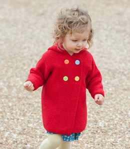 Plumpton Coat in Rooster Almerino Baby - Downloadable PDF