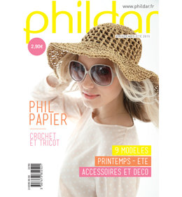 Phildar Mini Catalogue Spring/Summer 2015 Issue 590