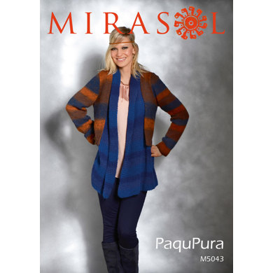 Double Blended Jacket in Mirasol Paqu Pura - 5043