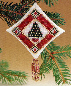 Mill Hill Petite Pine Beaded Cross Stitch Kit - Multi