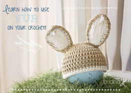 Newborn Bunny Hat and Bottom Cover