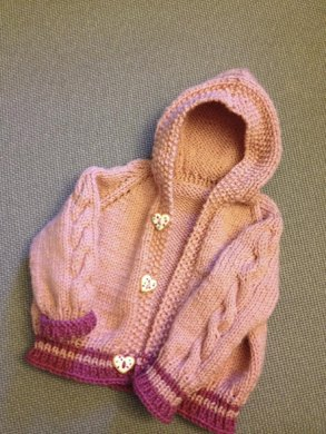Coco Cable Hoodie Cardigan