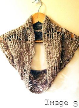 Triangle Lace Infinity Scarf