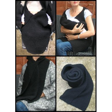 how to use a scarf as a wrap