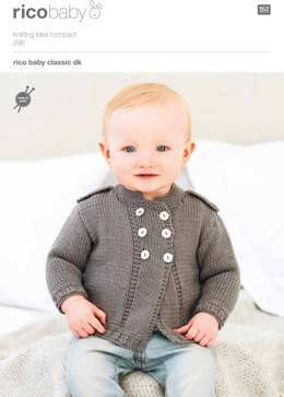 Cardigans in Rico Baby Classic DK - 298