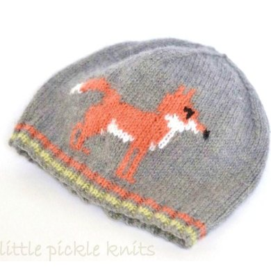 Baby and Child Hat 'Mr Fox'