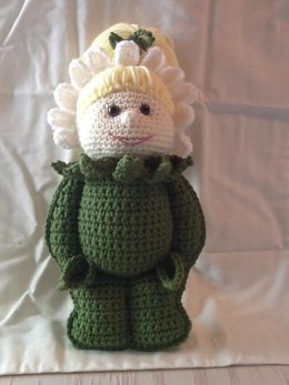 Amigurumi Daisy the Garden Fairy Playmate