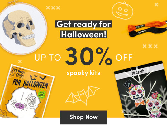 Up to 30 percent off kits for Halloween!