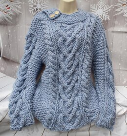 Heart Cable sweater