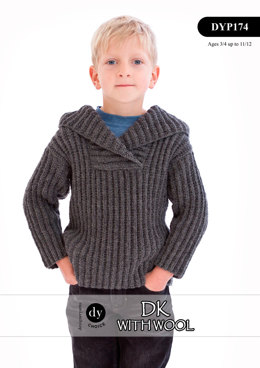 Sweater in DY Choice DK With Wool - DYP174