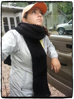 The Best Clunky Scarf Ever