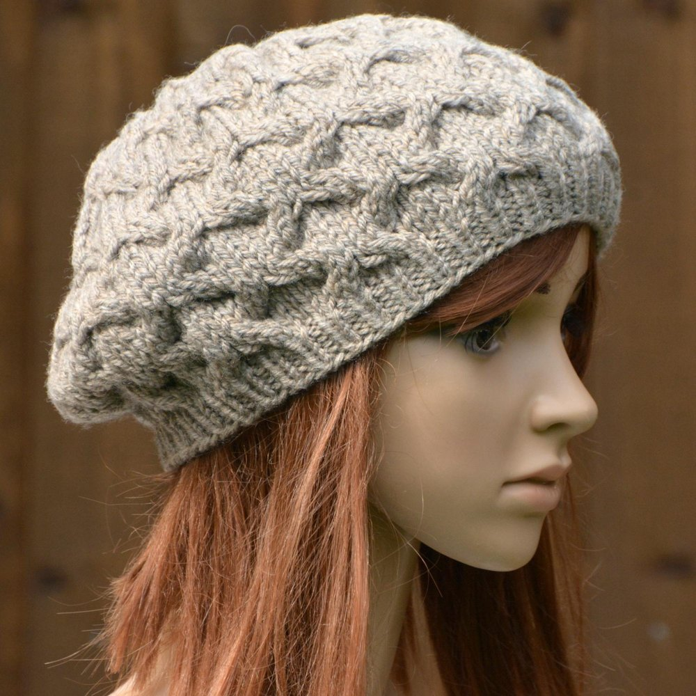 Stylecraft Knitting Pattern Errors : Womens Cable Beret KPWT03 in Stylecraft Life Chunky ...