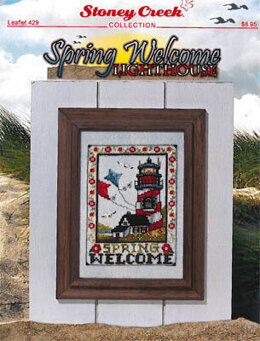 Stoney Creek Spring Welcome Lighthouse - SCL429 -  Leaflet