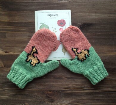 Love Alpacas Mittens
