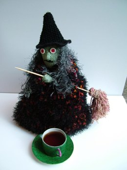 Witch Tea Cozy and Door Decoration