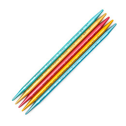 Addi FlipStix Double Point Needles 15cm (Set of 5)