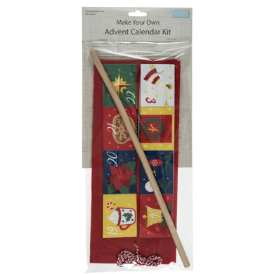 Trimits Make Your Own Advent Calendar Kit - Red
