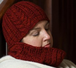 Rhonda in Midwinter Hat