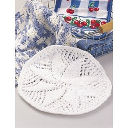 Doily Style Dishcloth in Lily Sugar 'n Cream Solids