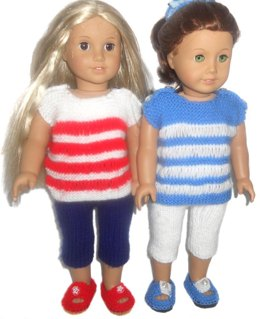 Summer Casual for AG , Gotz and other 18'' Dolls