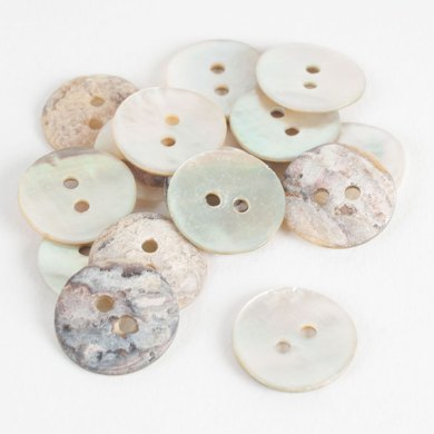Dyed Shell Buttons