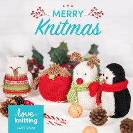 LoveKnitting eGift Card - Christmas