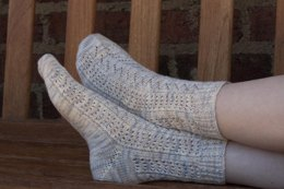 Feather Lace Socks