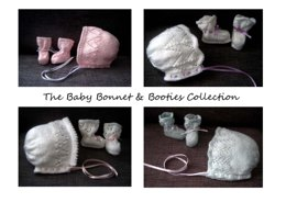The Baby Bonnet & Booties Collection E-Book (4-Ply)