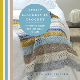 Stripy Blankets to Crochet by Haafner Linssen