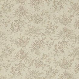 Moda Fabrics 3 Sisters Snowberry Snow Floral Toile Natural