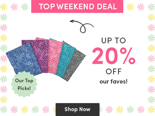 Up to 20 percent off favourite supplies!