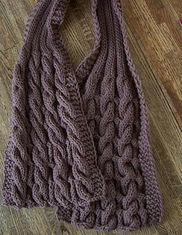 Completely Cozy & Reversible Scarf for Him!