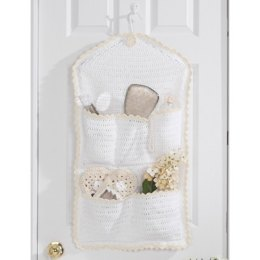 Door Catch-All Container in Lily Sugar 'n Cream Solids
