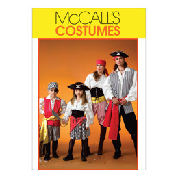 McCall's Misses'/Men's/Children's/Boys'/Girls' Costumes M4952 - Sewing Pattern