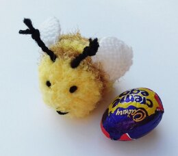 Bee Happy - Easter Egg Cover
