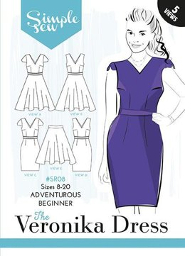 Simple Sew Patterns The Veronika Dress SR08 - Sewing Pattern
