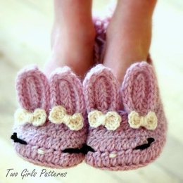 Children's Sizes 10-2 Bunny Hops The Classic and Year-Round Slipper