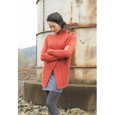 A Touch of Luxe Cardigan in Imperial Yarn Erin - P157 - Downloadable PDF