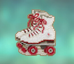 Mill Hill Spring Bouquet 2020 - Roller Skates Seasonal Ornament - 2.5in x 3in