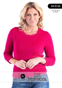 Sweater in DY Choice DK With Wool - DYP120